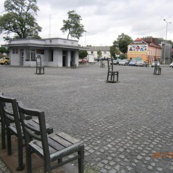 Plac Bohaterów Getta w Krakowie
