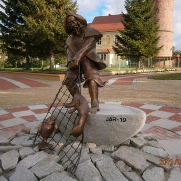 Pomnik rybaka w Jarosławcu