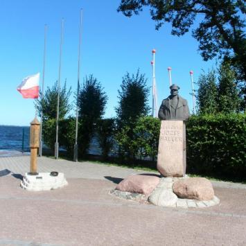 Pomnik zaślubin z morzem w Pucku