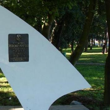 Pomnik Żeromskiego w Helu