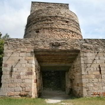 Ruiny Huty w Samsonowie - zdjęcie