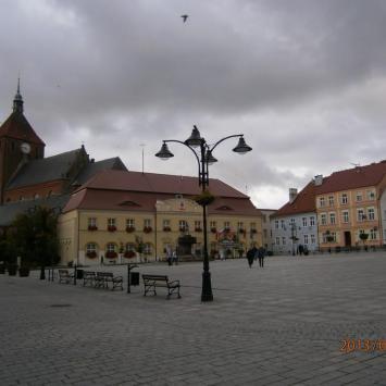 Rynek w Darłowie - zdjęcie