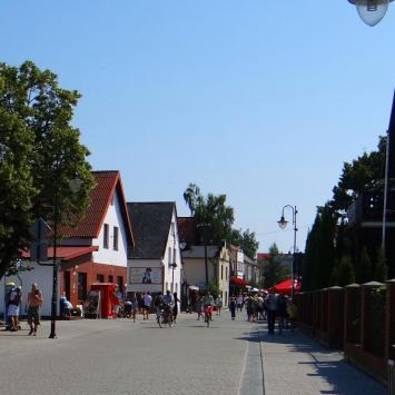 Ulica Wiejska w Helu