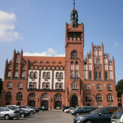 Ratusz w Słupsku