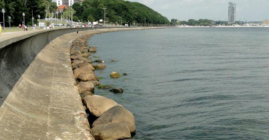 Bulwar Nadmorski w Gdyni - zdjęcie