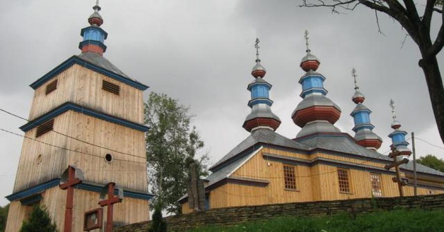 Cerkiew w Komańczy - zdjęcie
