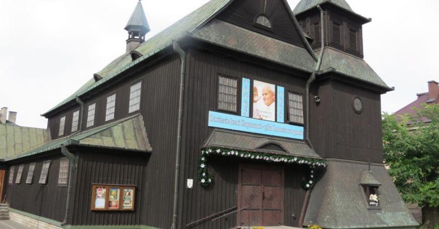Drewniany kościół w Ostrowcu Świętokrzyskim, Tadeusz Walkowicz