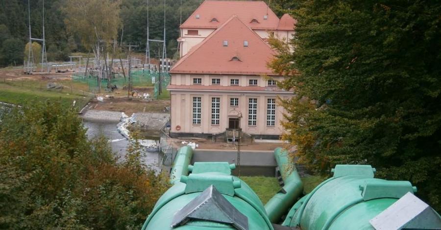 Elektrownia w Gałąźni Małej - zdjęcie