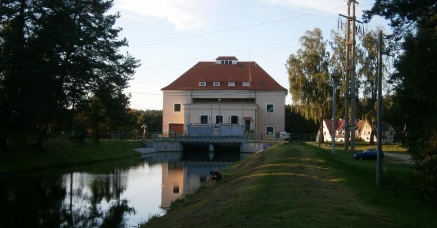 Elektrownia wodna Krzynia - zdjęcie