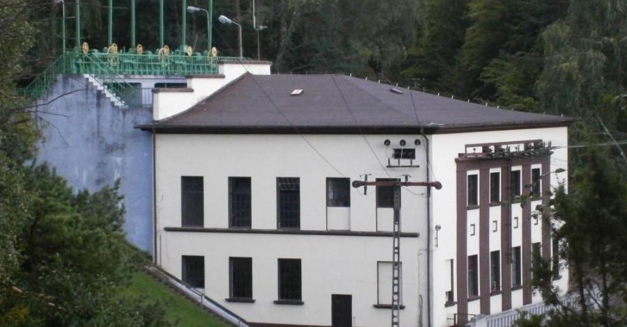Elektrownia wodna Strzegomino w Konradowie - zdjęcie
