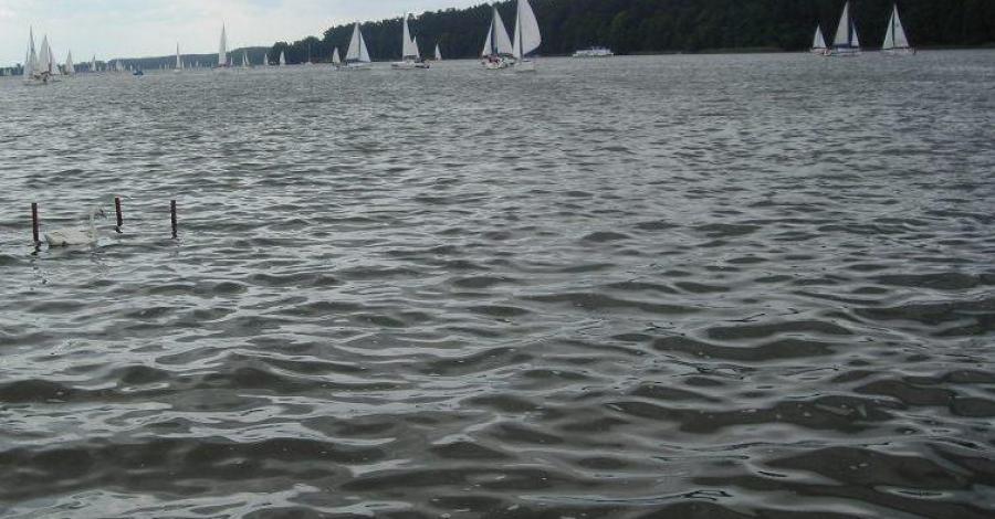 Jezioro Szymoneckie na Mazurach - zdjęcie