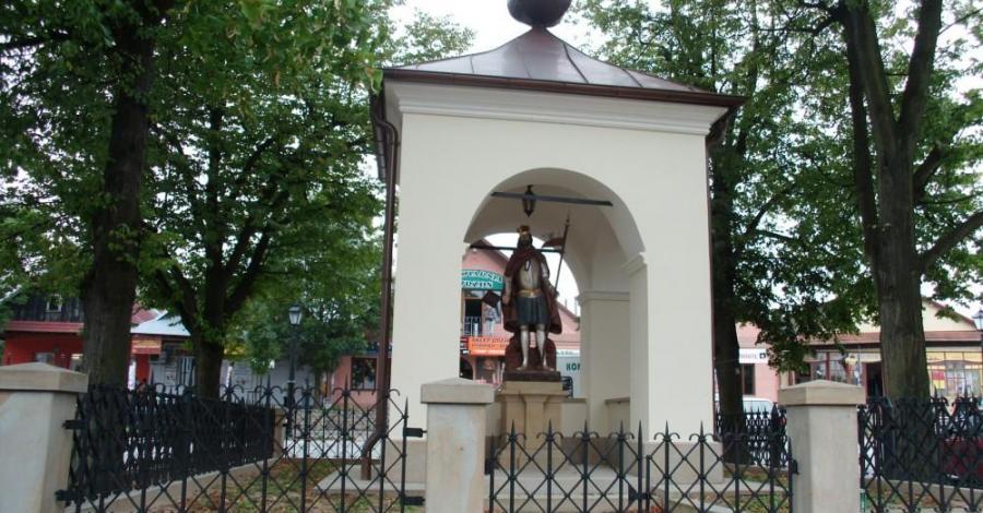 Kapliczka Św. Floriana w Ciężkowicach - zdjęcie