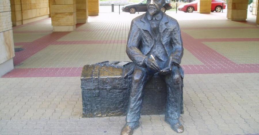 Kufer Reymonta w Łodzi - zdjęcie
