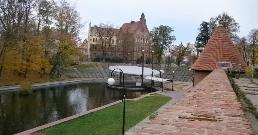 Mury miejskie w Braniewie - zdjęcie