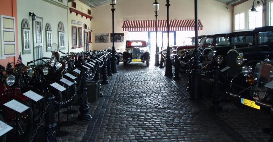 Muzeum Motoryzacji w Gdyni - zdjęcie
