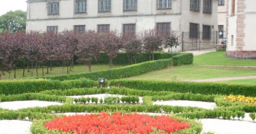 Ogród przy Muzeum w Kielcach - zdjęcie