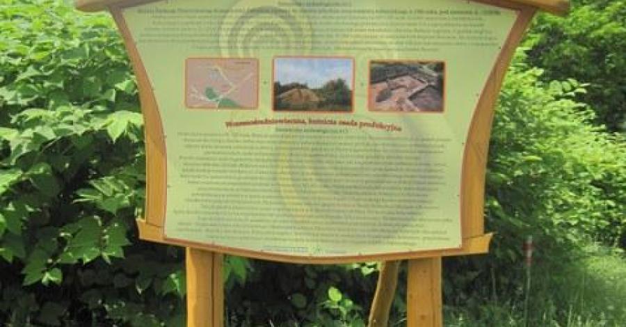 Osada hutnicza i gródek w Sosnowcu - zdjęcie