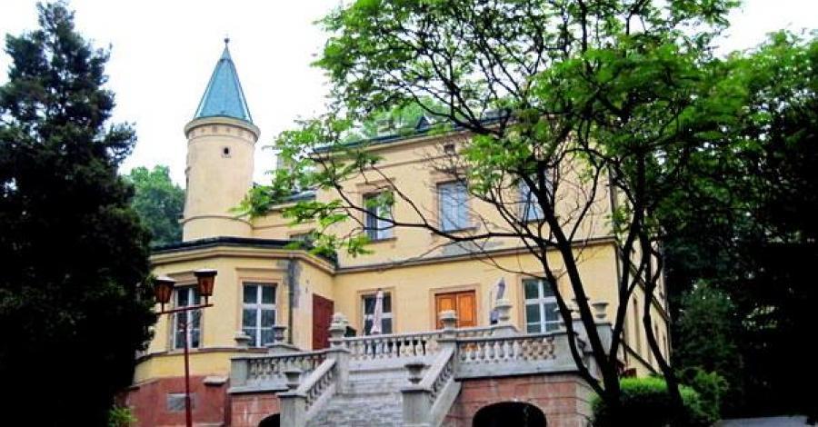 Pałac w Będzinie Grodźcu - zdjęcie