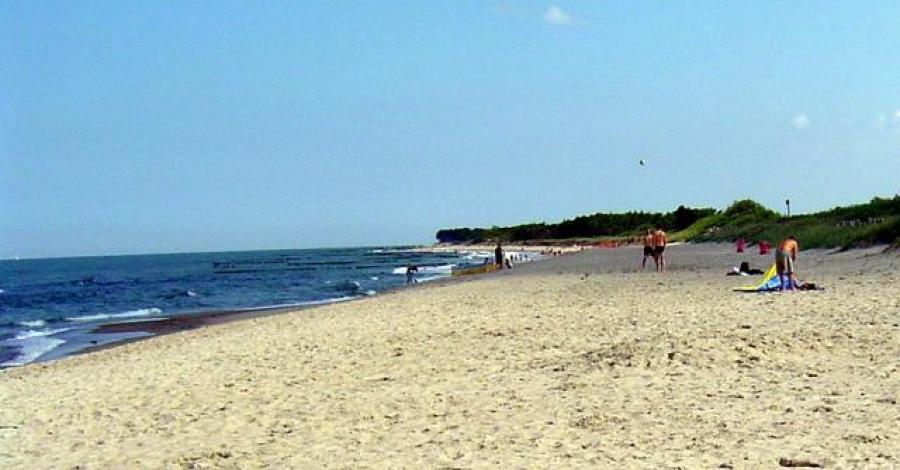 Plaża w Darłówku - zdjęcie