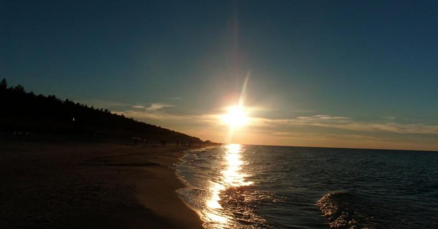 Plaża w Karwieńskich Błotach - zdjęcie