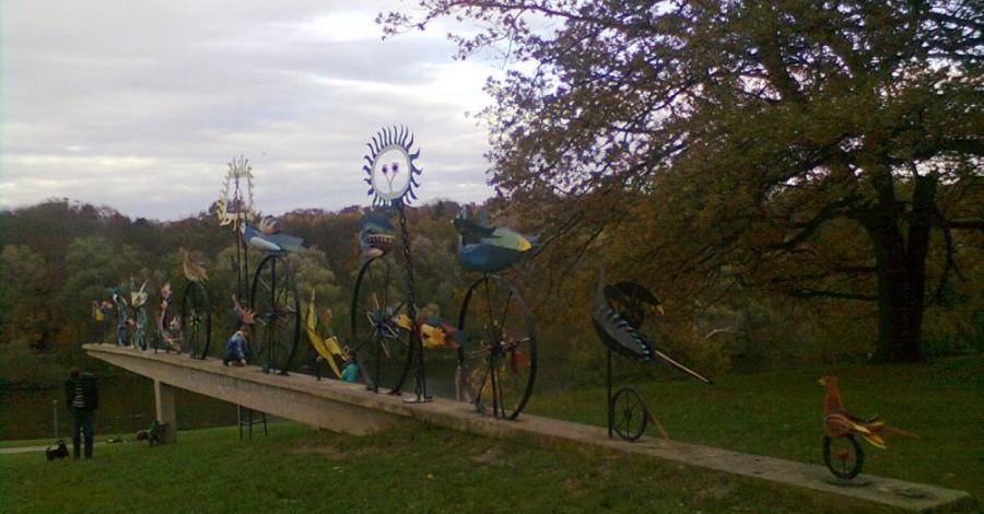 Płonące ptaki w Szczecinie - zdjęcie
