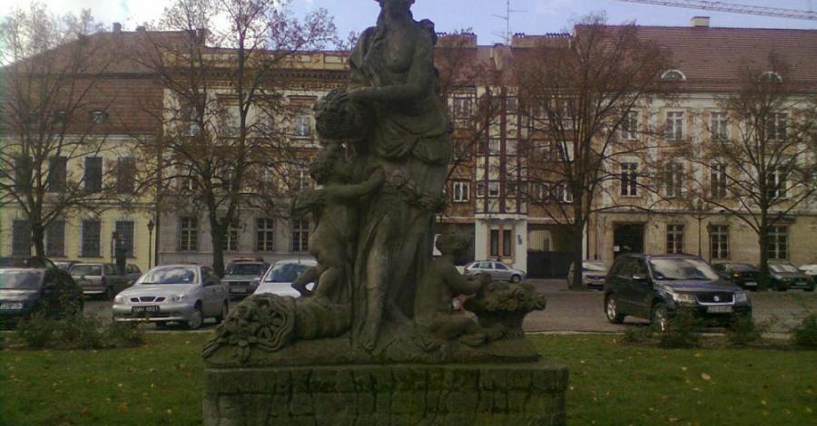 Pomnik Flory w Szczecinie - zdjęcie