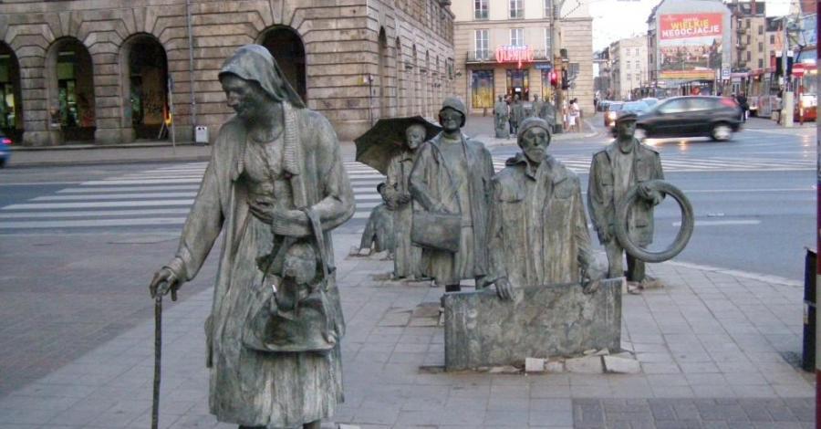 Pomnik Przejście we Wrocławiu - zdjęcie