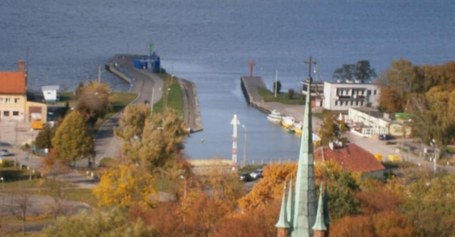 Port we Fromborku - zdjęcie