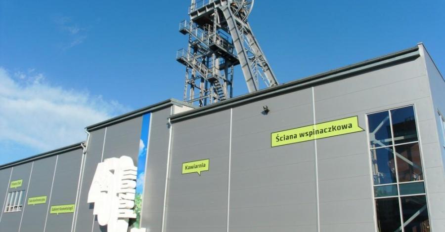 Ścianka wspinaczkowa w Sosnowcu - zdjęcie