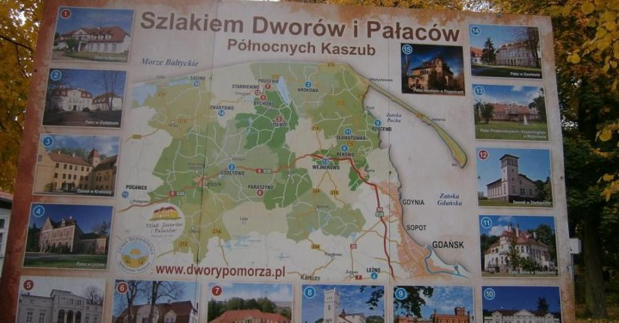 Szlak Dworów i Pałaców Północnych Kaszub - zdjęcie