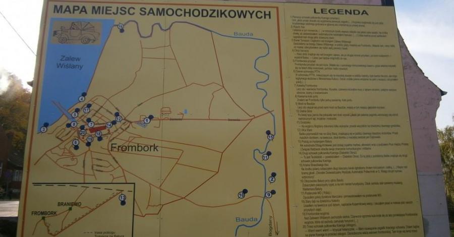 Szlak Pana Samochodzika we Fromborku - zdjęcie
