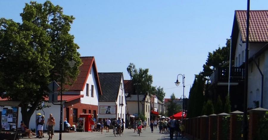 Ulica Wiejska w Helu - zdjęcie