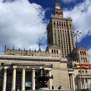 Warszawa Pałac Kultury, Anna Piernikarczyk
