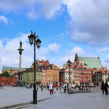 Warszawa Plac Zamkowy, Anna Piernikarczyk