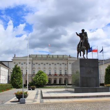 Warszawa Pałac Prezydencki, Anna Piernikarczyk
