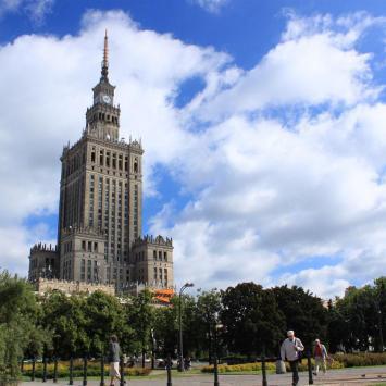 Warszawa Pałac Kultury i Nauki, Anna Piernikarczyk