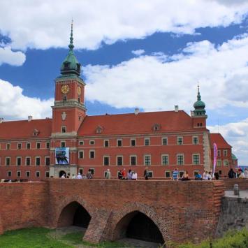 Warszawa Zamek Królewski, Anna Piernikarczyk