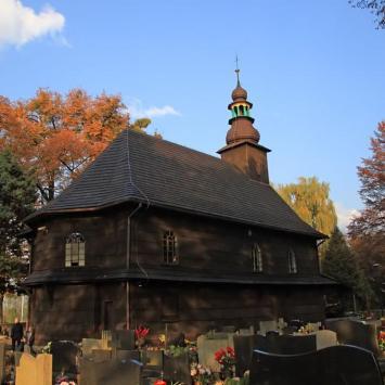 Drewniany kościół w Ustroniu Nierodzimiu