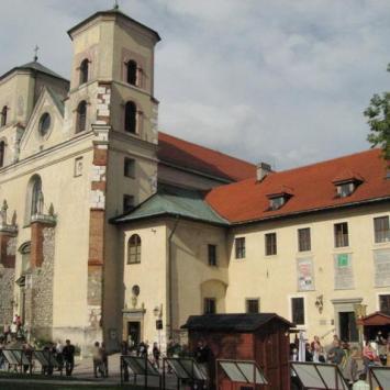 Kościół  Św. Piotra i Pawła w Tyńcu