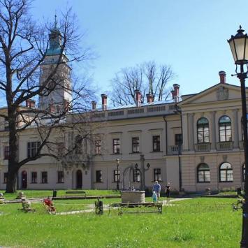 Pałac w Żywcu, Anna Piernikarczyk