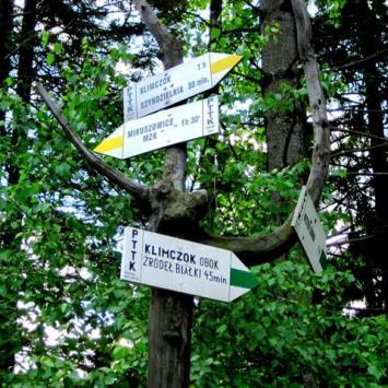 Przełęcz Kołowrót w Beskidzie Śląskim