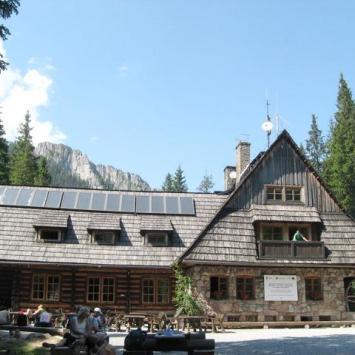 Schronisko na Hali Ornak w Tatrach