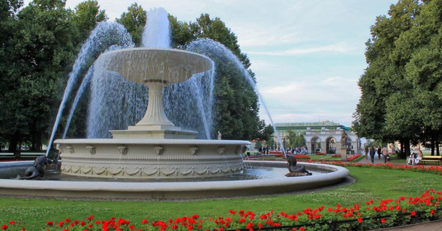 Ogród Saski w Warszawie - zdjęcie