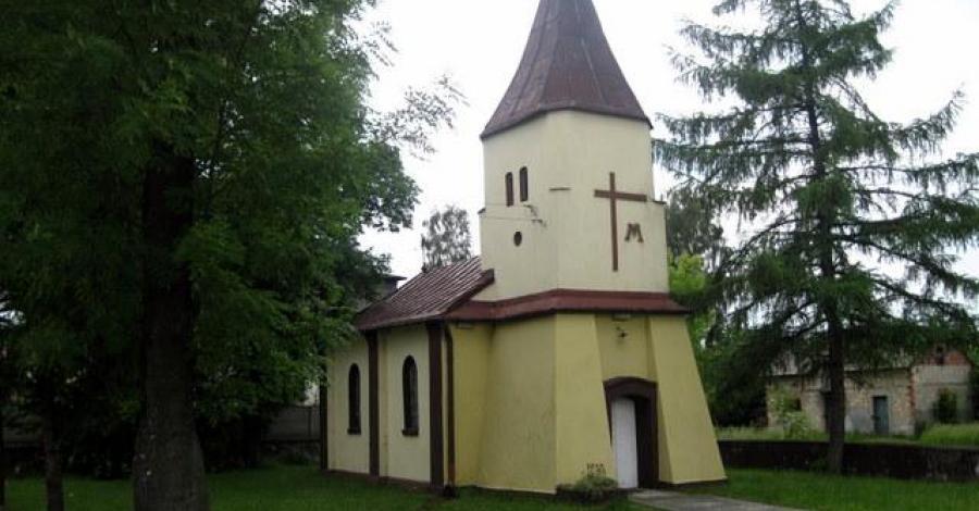 Kapliczka w Trzebiesławicach - zdjęcie