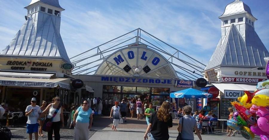 Molo w Międzyzdrojach - zdjęcie