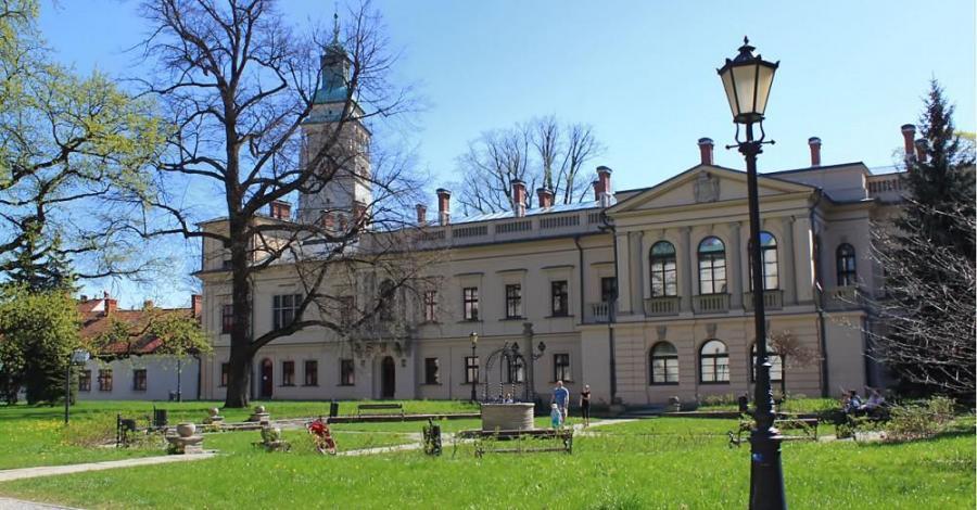 Pałac w Żywcu - zdjęcie