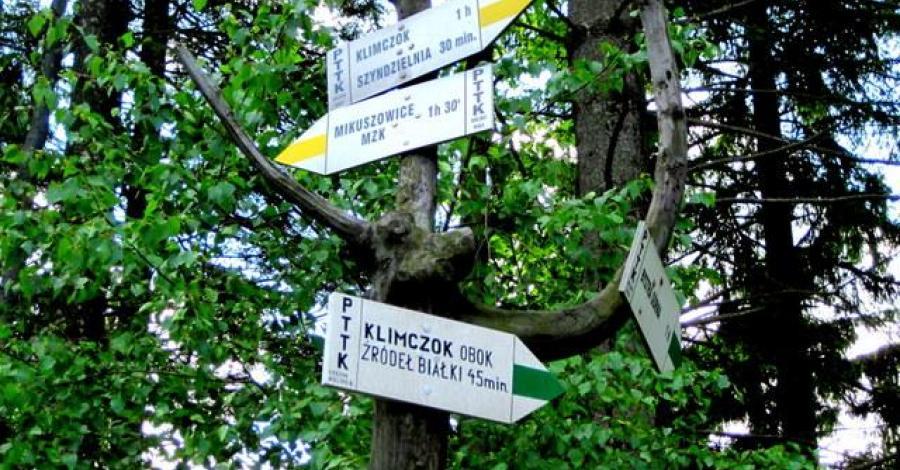 Przełęcz Kołowrót w Beskidzie Śląskim - zdjęcie