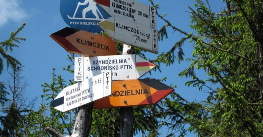 Rozstaj 3 szlaków przed Klimczokiem, Roman Świątkowski