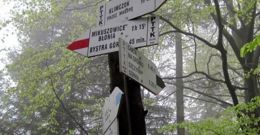 Rozstaj nad Bystrą w Beskidzie Śląskim - zdjęcie