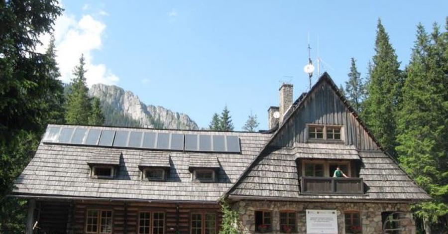 Schronisko na Hali Ornak w Tatrach - zdjęcie